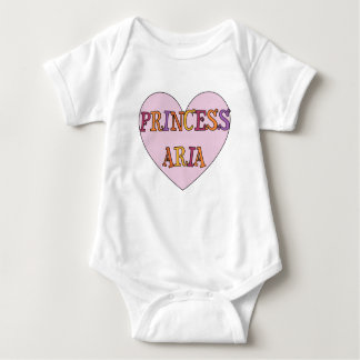 Princess Aria Toddler Outfit Baby Bodysuit