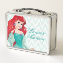 Princess Ariel - Personalized Metal Lunch Box