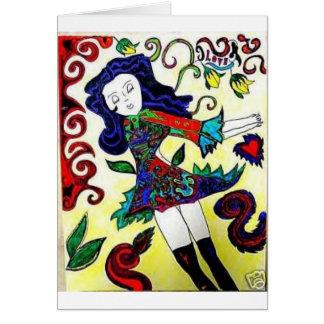 Princess Art-Daisey Van Diesel Card