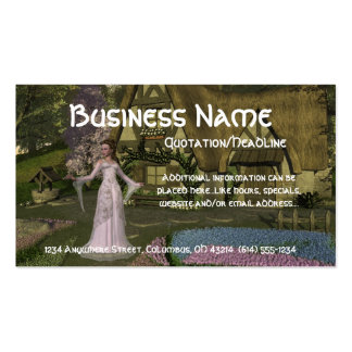 Princess at the Cottage Business Cards (Realtor)