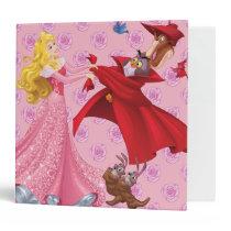 Princess Aurora and Forest Animals Binder