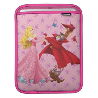 Princess Aurora and Forest Animals Sleeve For iPads