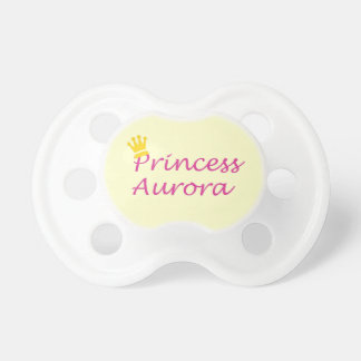 """Princess Aurora"" Baby Pacifier"