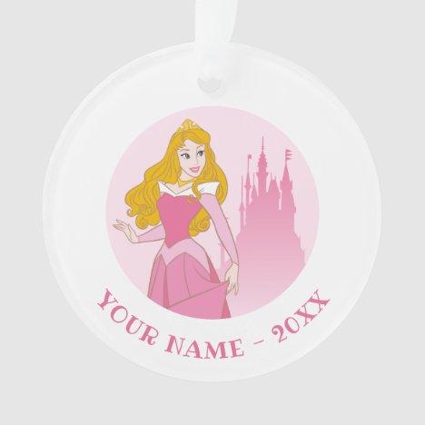 Princess Aurora & Castle Graphic Ornament