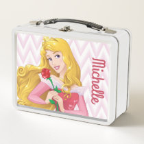 Princess Aurora - Personalized Metal Lunch Box