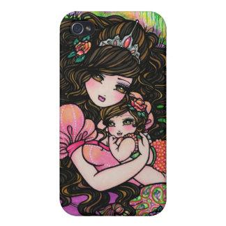 Princess & Baby Fantasy Fairy Tale Art Hannah Lynn Cases For iPhone 4