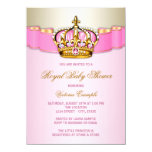 "Princess Baby Shower 4.5"" X 6.25"" Invitation Card"