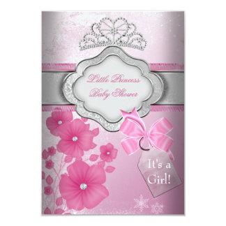 Princess Baby Shower Girl Pink Tiara Princess Personalized Invites