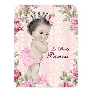 Princess Baby Shower 4.25x5.5 Paper Invitation Card