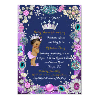 Princess Baby Shower Invitation, Little Princess. Card