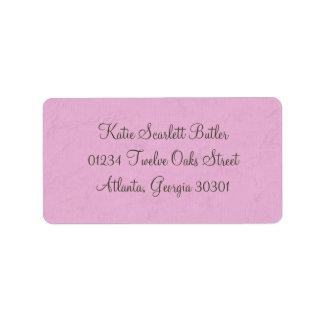 Princess Baby Shower Personalized Address Label