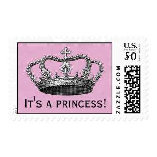 Princess Baby Shower Postage