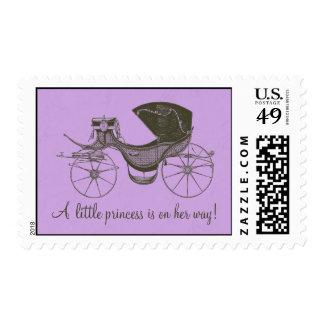 Princess Baby Shower Postage Stamp