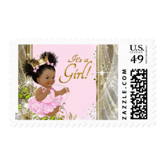 Princess Baby Shower Postage Stamps