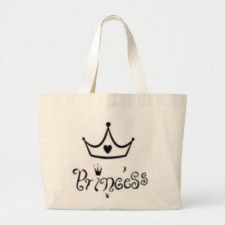 Princess Canvas Bags