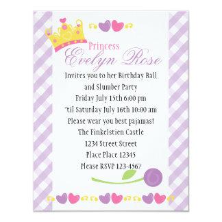 Princess Ball Personalized Invitations