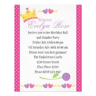 Princess Ball Invitations