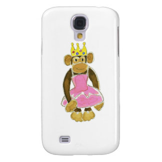 princess ballerina monkey galaxy s4 covers