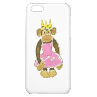 princess ballerina monkey case for iPhone 5C