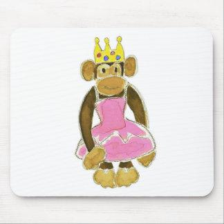 princess ballerina monkey mousepad