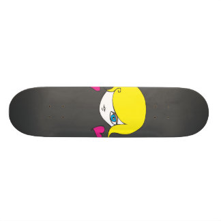 princess barbie - skateboard