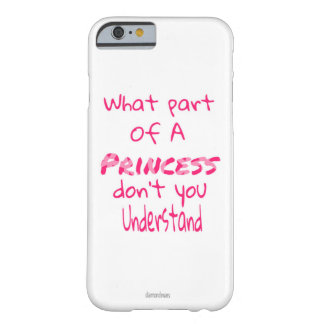 Princess Barely There iPhone 6 Case