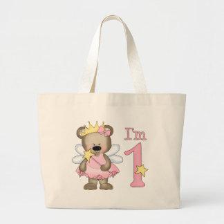 Princess Bear 1st Birthday Bags