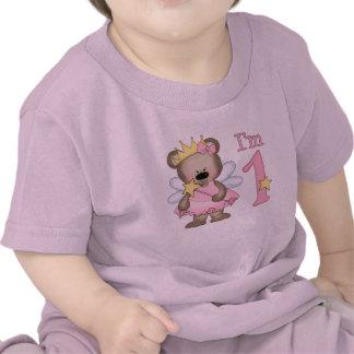 Princess Bear 1st Birthday Tee Shirts