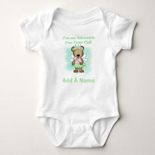 Princess Bear 1st Birthday Tshirt