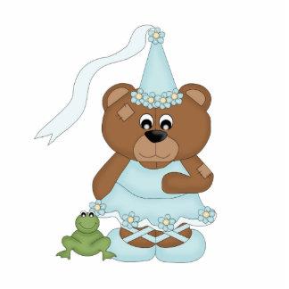 Princess Bear (light blue) Cutout