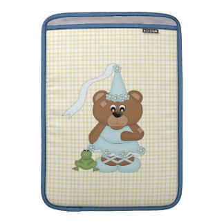 Princess Bear (light blue) MacBook Sleeve