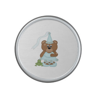 Princess Bear (light blue) Speaker