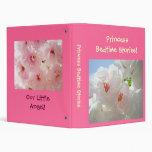 Princess Bedtime Stories! binder Pink Blossoms