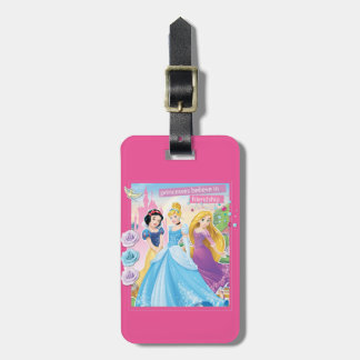 Princess Believe in Frinedship 2 Luggage Tag