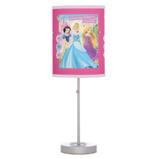 Princess Believe in Frinedship 2 Table Lamps