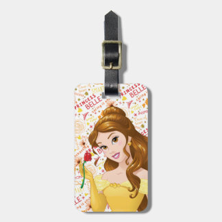 Princess Belle Bag Tag