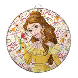Princess Belle Dartboard