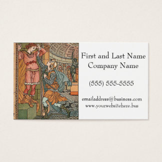 Princess Belle Etoile Illustration Business Card