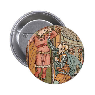 Princess Belle Etoile Illustration Pinback Button