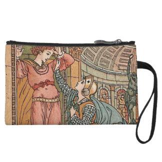 Princess Belle Etoile Illustration Wristlet Wallet