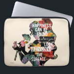 "Princess | Belle Floral Silhouette Laptop Sleeve<br><div class=""desc"">Disney Fast Fashion 