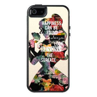 Princess | Belle Floral Silhouette OtterBox iPhone 5/5s/SE Case