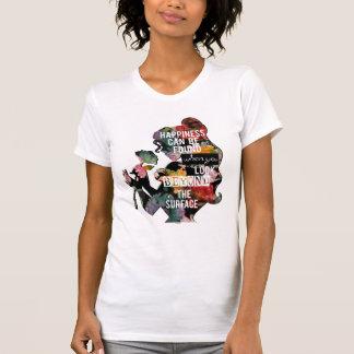 Princess | Belle Floral Silhouette T-Shirt