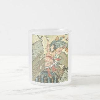 Princess Belle Frosted Glass Mug