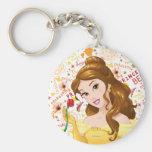 Princess Belle Keychain