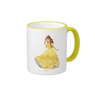 Princess Belle Ringer Coffee Mug