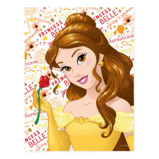 Princess Belle Postcard