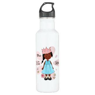 Princess Big Sister African American Water Bottle