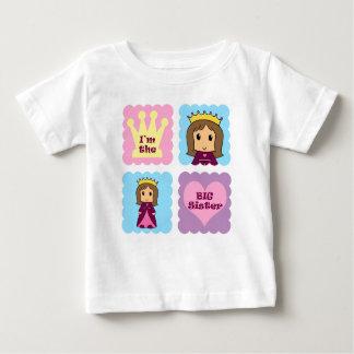 Princess Big Sister Baby T-Shirt