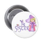 Princess Big Sister Button